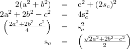 \begin{tabular}{rcl}